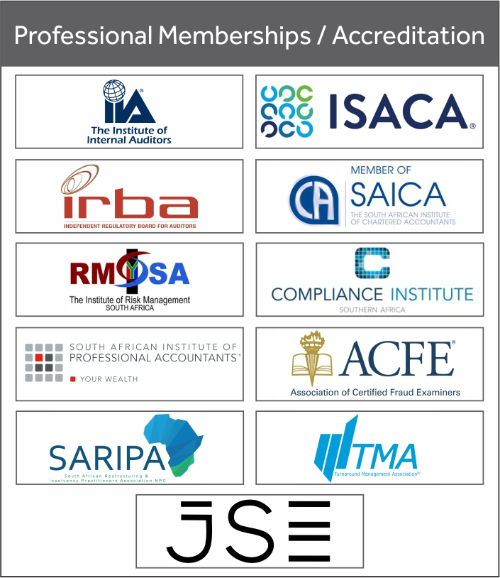 Professional Memberships and Accreditations
