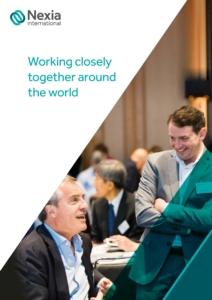 Nexia International corporate brochure 2021 page 001